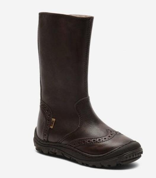 Bisgaard texstøvel brown 60509