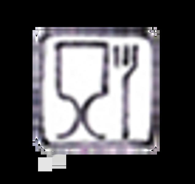 Rice, dyp tallerken i melamin, lavender