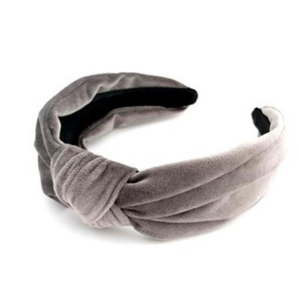 Noma, Hårbøyle knute velur grå