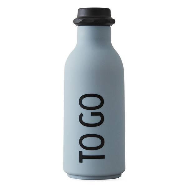 Design Letters, To go drikkeflaske grå