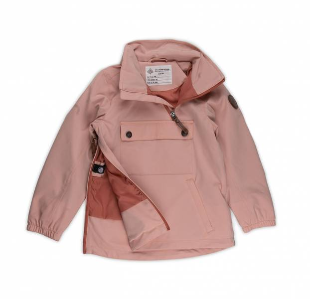 Gullkorn design, Svalen 2-lags anorakk soft rosa