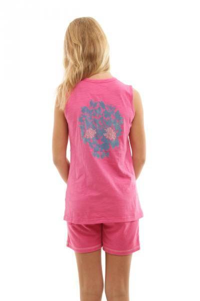 ChillNorway Simona singlet pink