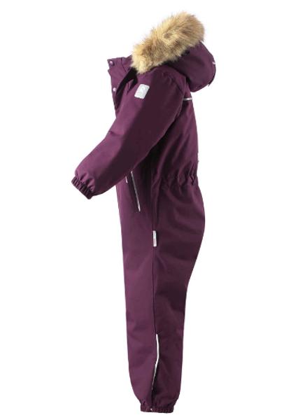 Reima, vinterdress Stavanger deep purple
