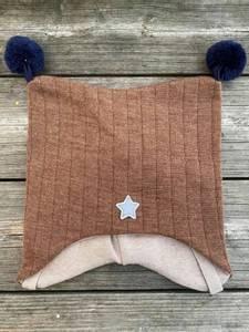 Bilde av Kivat, brun knytelue i ull
