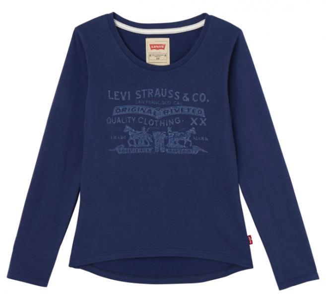 Levis, You longsleeve medieval blue