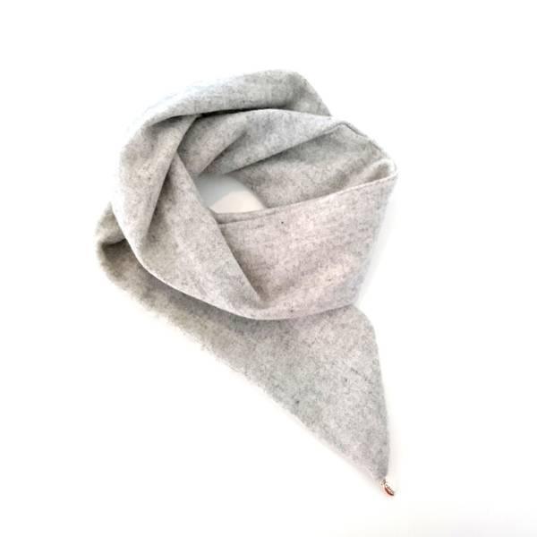 Noma, Hårbånd ull wire lys grå