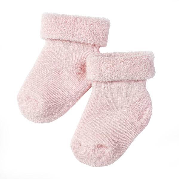 Lille Lam, 2 pk ullsokk baby rosa