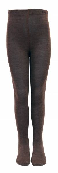Melton strømpebukse classic wool/cotton brown