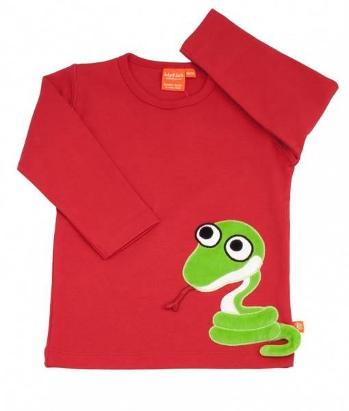 Lipfish, rød genser slange