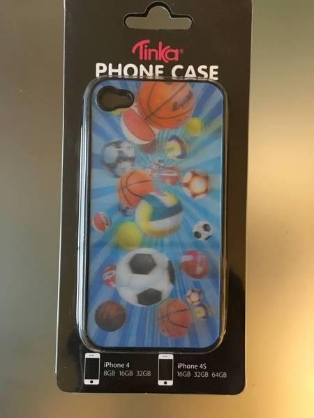 Sam & Sofie , Tinka Iphone cover for Iphone 4/4S , 3 D fotball