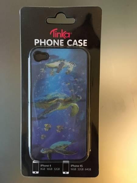 Sam & Sofie , Tinka Iphone cover for Iphone 4/4S , 3 D skilpadde