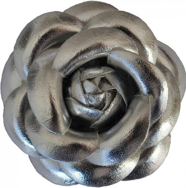 Hårspenne sølv 214. Den lille prikken over i'en