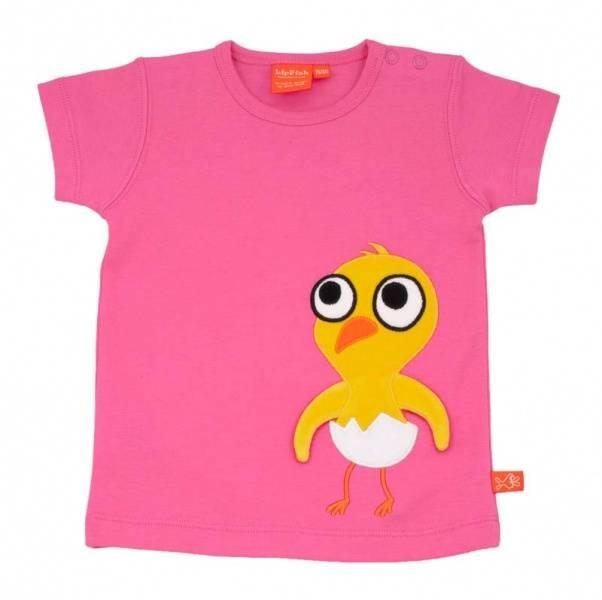 Lipfish,T-skjorte Kylling Rosa