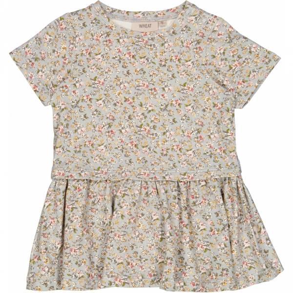 Wheat kjole Adea ,dusty dove flowers