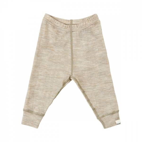 Celavi bukse taupe merinoull