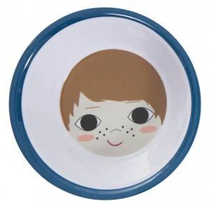 Bilde av Sebra, dyp tallerken gutt