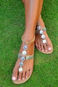 Bilde av Hot lava, sandaler Buli Coin