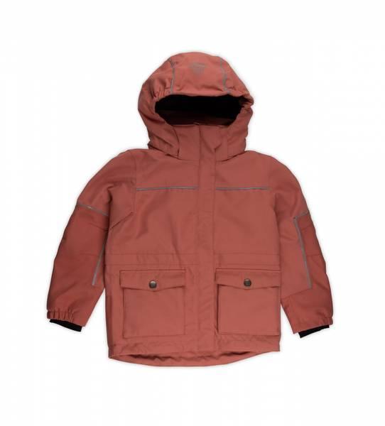 Gullkorn design,  Timotei 2-lags jakke teracotta