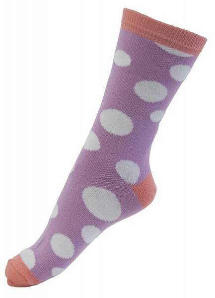 Melton sokker, dotty dots polignac