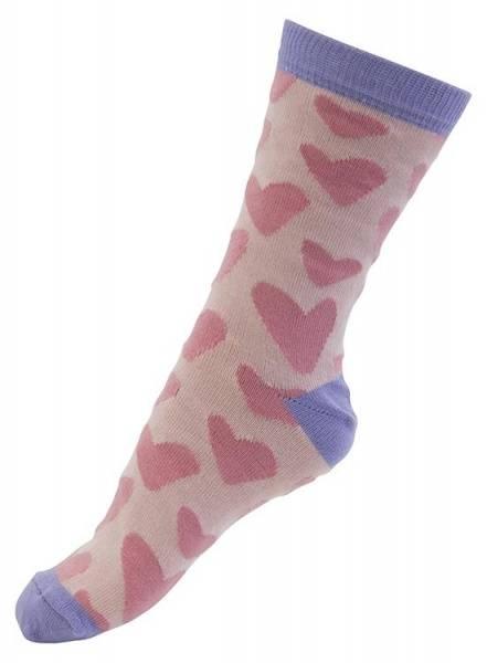 Melton sokker, store hjerter