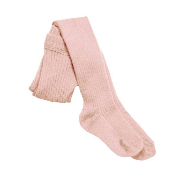 MeMini, Rib tights silver pink