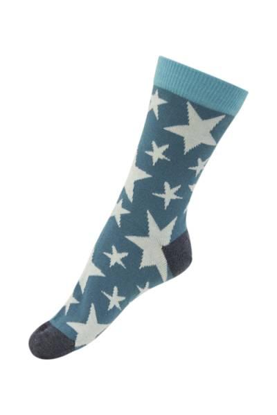 Melton sokker, blue atoll stjerner