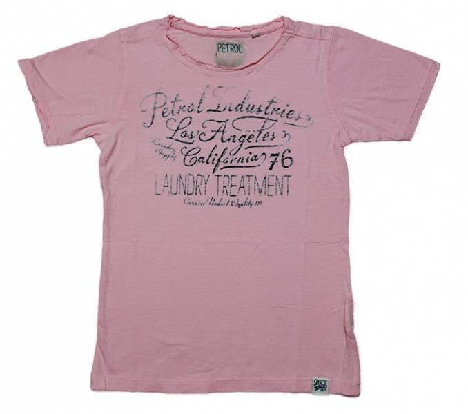 Petrol, pearl blush t-skjorte
