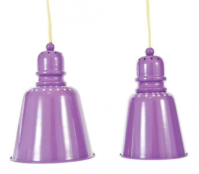 Sebra,  lampe lilla