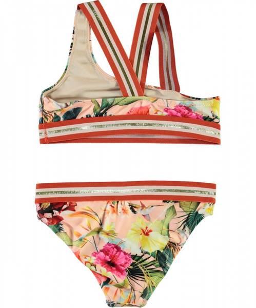 Molo, Nicola hawaiian flowers bikini