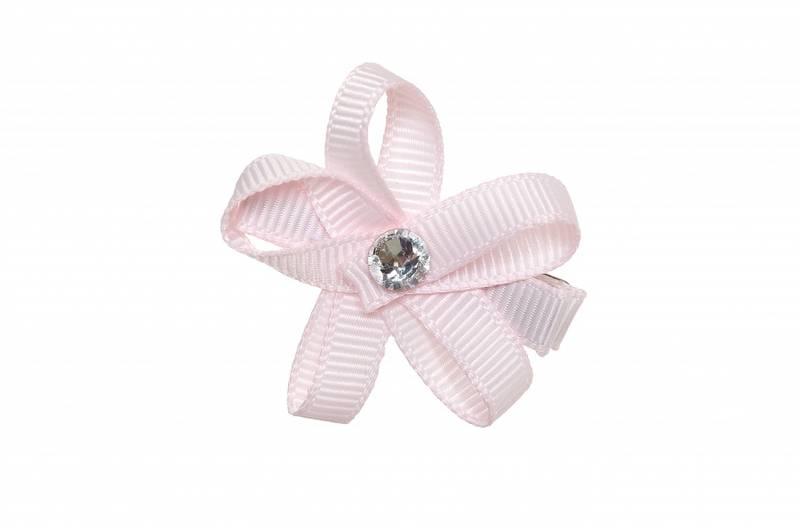 Prinsessefin, Alice hårspenne, lys rosa