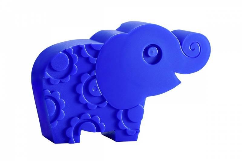Blafre, matboks blå elefant