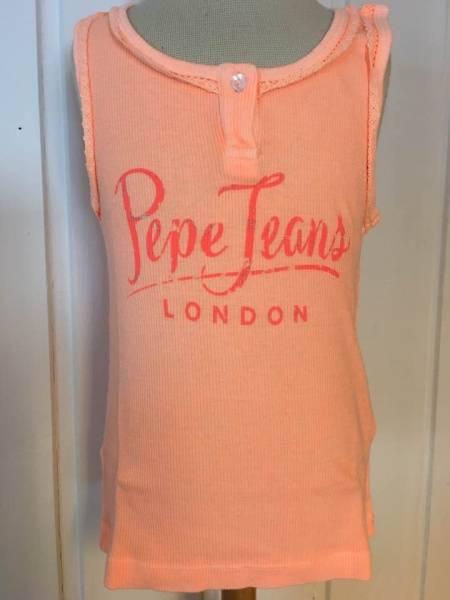 Pepe Jeans, Abelia singlet acid orange