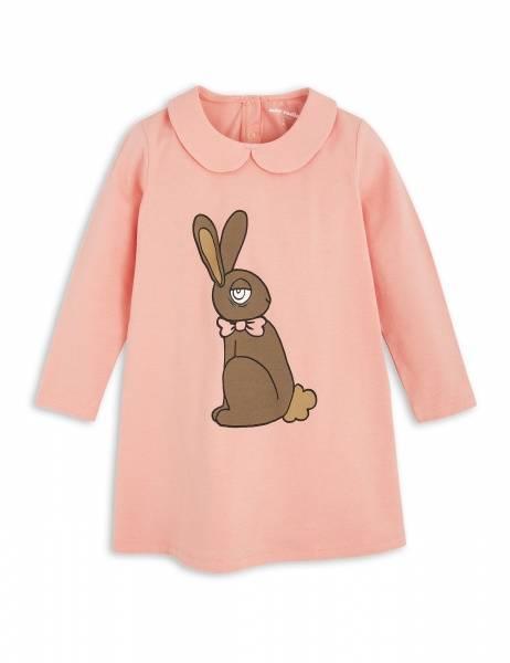 Mini rodini, rabbit collar dress