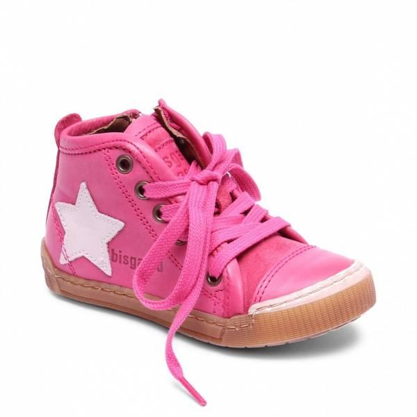 Bisgaard, rosa sko med lisser