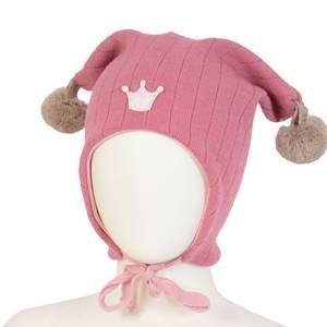 Bilde av Kivat, rosa knytelue i ull