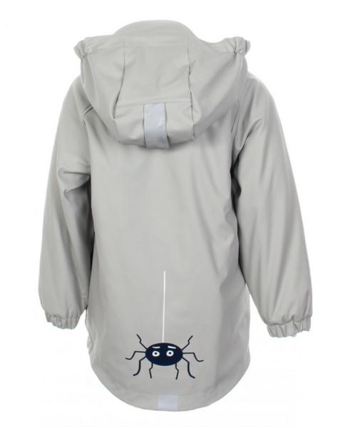 Kattnakken , Regnjakke insekt misty blue