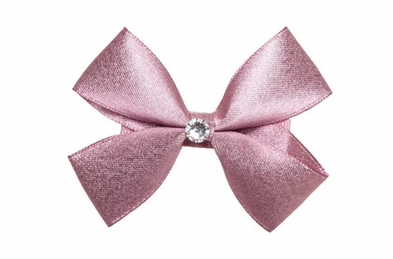 Prinsessefin, Shimmer hårspenne, dust pink
