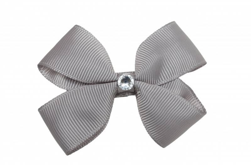 Prinsessefin, Benedicte hårspenne, grå