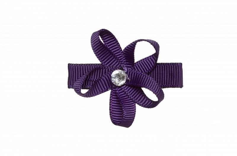 Prinsessefin, Isadora hårspenne, plomme
