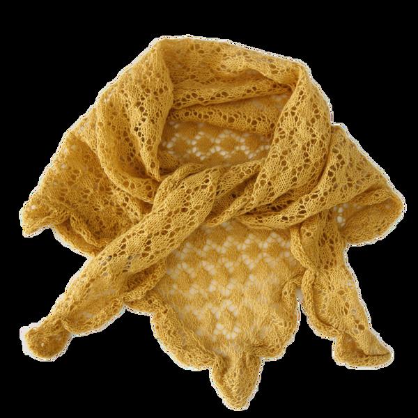 Esencia Skjerf Mimi, alpakka amber