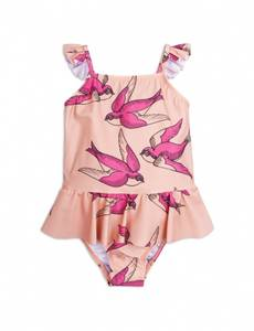 Bilde av Mini rodini, pink swallows