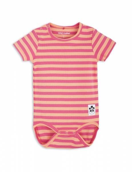 Mini rodini, Stripe rib body pink
