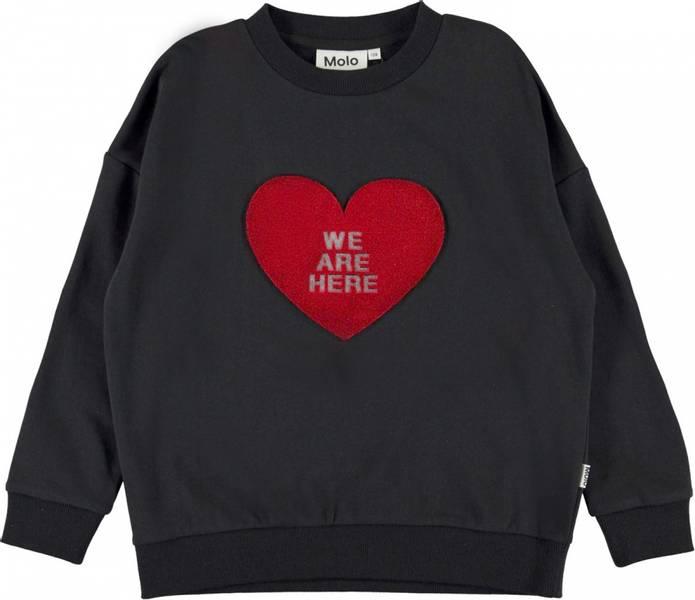 Molo, Maxi black sweatshirt