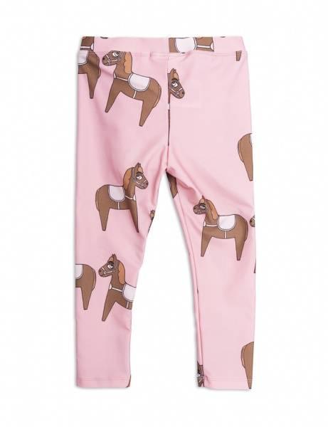 Mini rodini, horse pink leggings