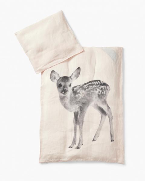 By nord, baby deer sengesett dusty rose