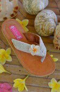 Bilde av Hot lava, sandaler med perler