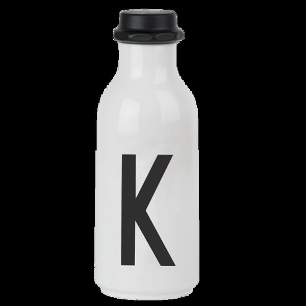 Design Letters, drikkeflaske K