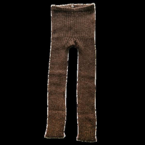 Esencia, leggings alpaca cocoa