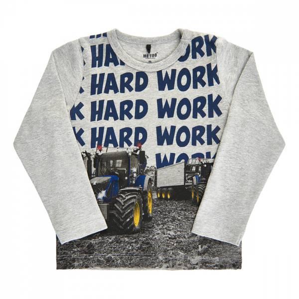 Me too, Genser - Hard Work, light grey melange