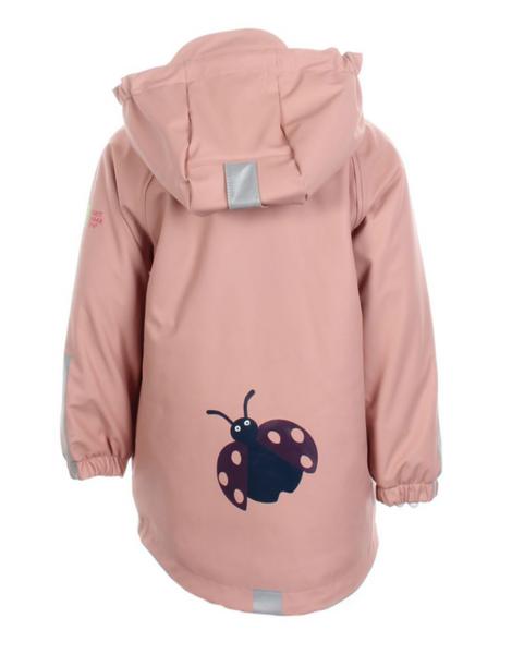 Kattnakken , Regnjakke insekt misty pink